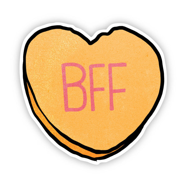 BFF Heart Sticker