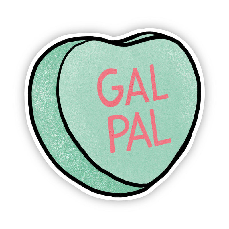 Gal Pal Heart Sticker