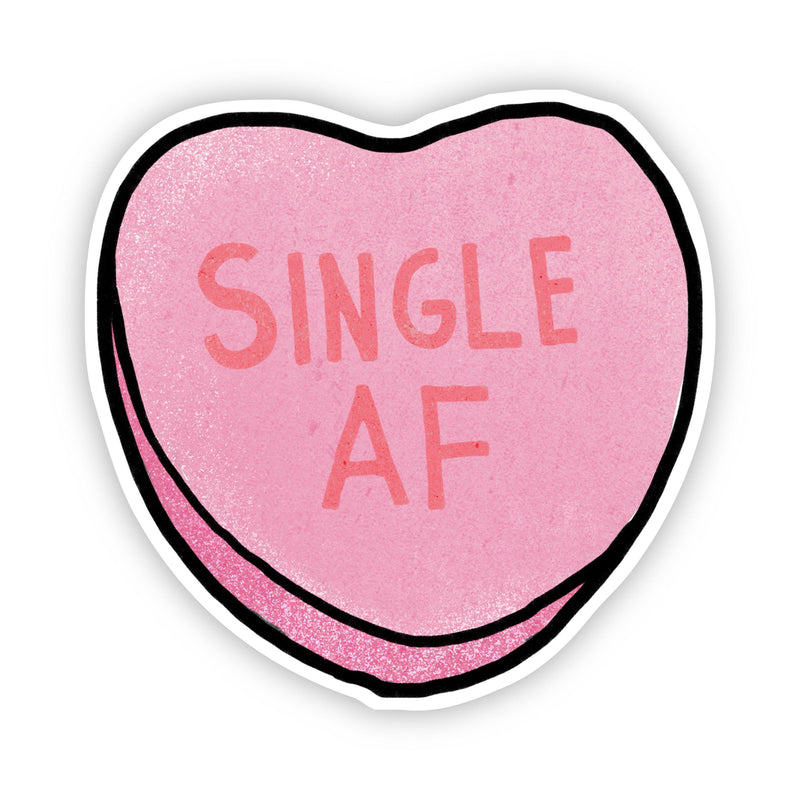 Single AF Heart Sticker