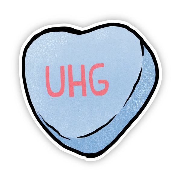 Uhg Heart Sticker