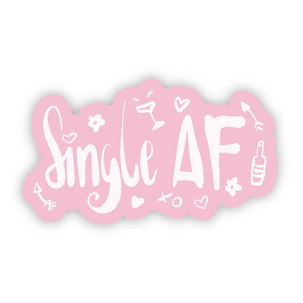 Single AF Pink Sticker