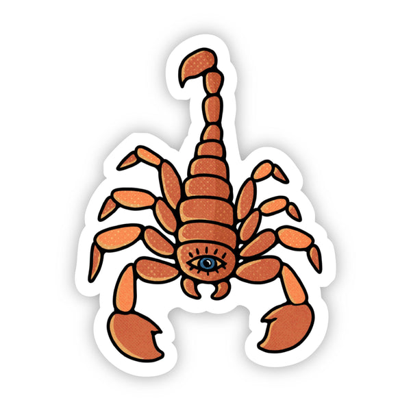 Scorpio Scorpion Sign Zodiac Sticker
