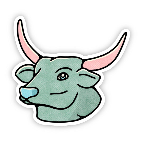 Taurus Bull Sign Zodiac Sticker