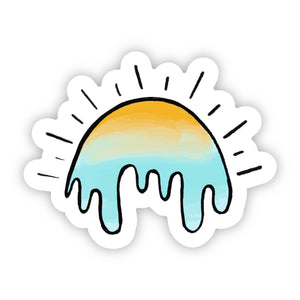 Melting Sunshine Sticker