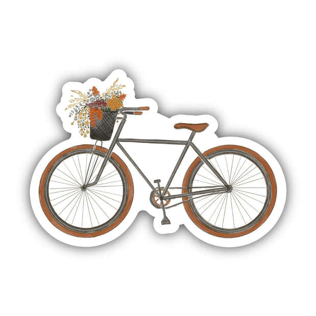 Bicycle Fall Sticker 1