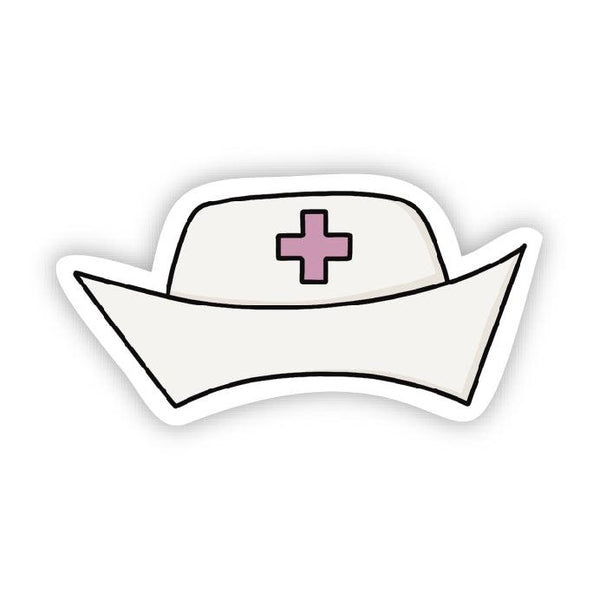 Nurse Cap Sticker