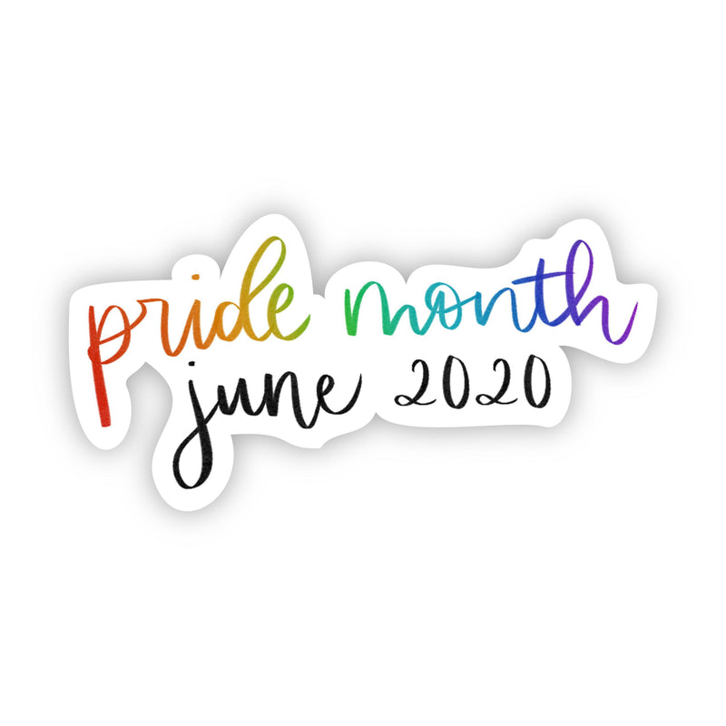June 2020 Pride Month Sticker