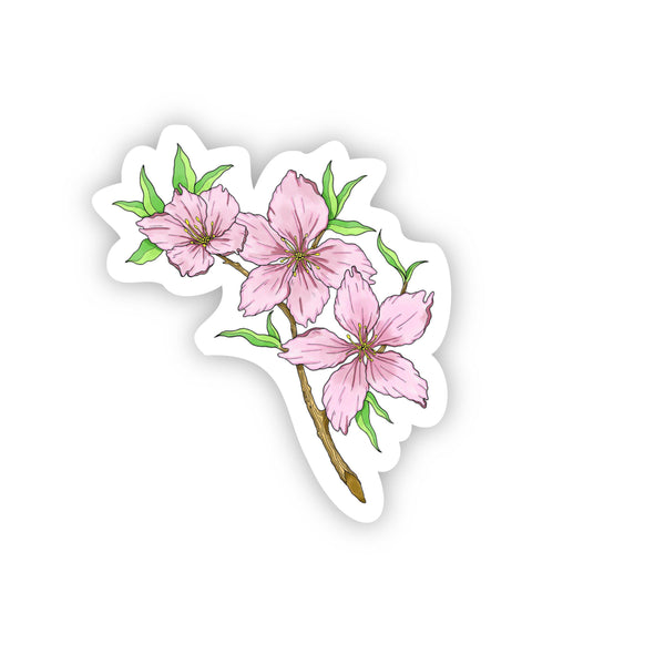 Dream catcher flowering cherry tree sticker