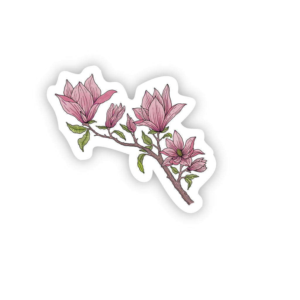 Magnolia Flower Sticker