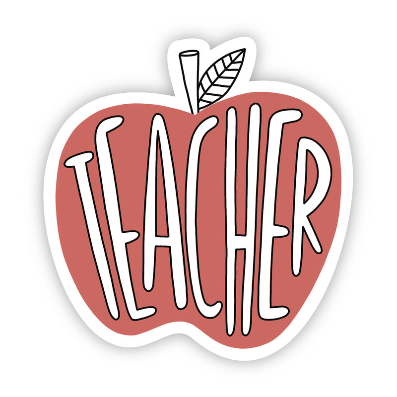 Teacher Red Apple