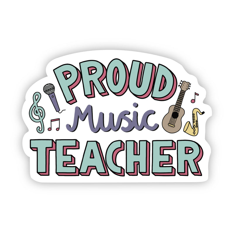 Proud Music Teacher