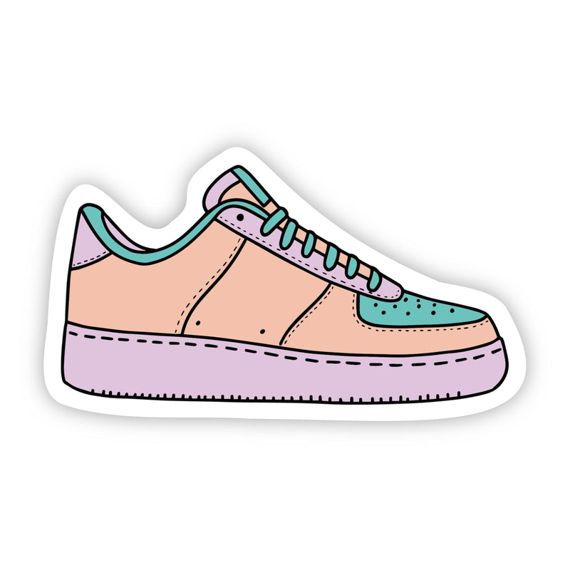 Sneaker Multi Color Aesthetic Sticker
