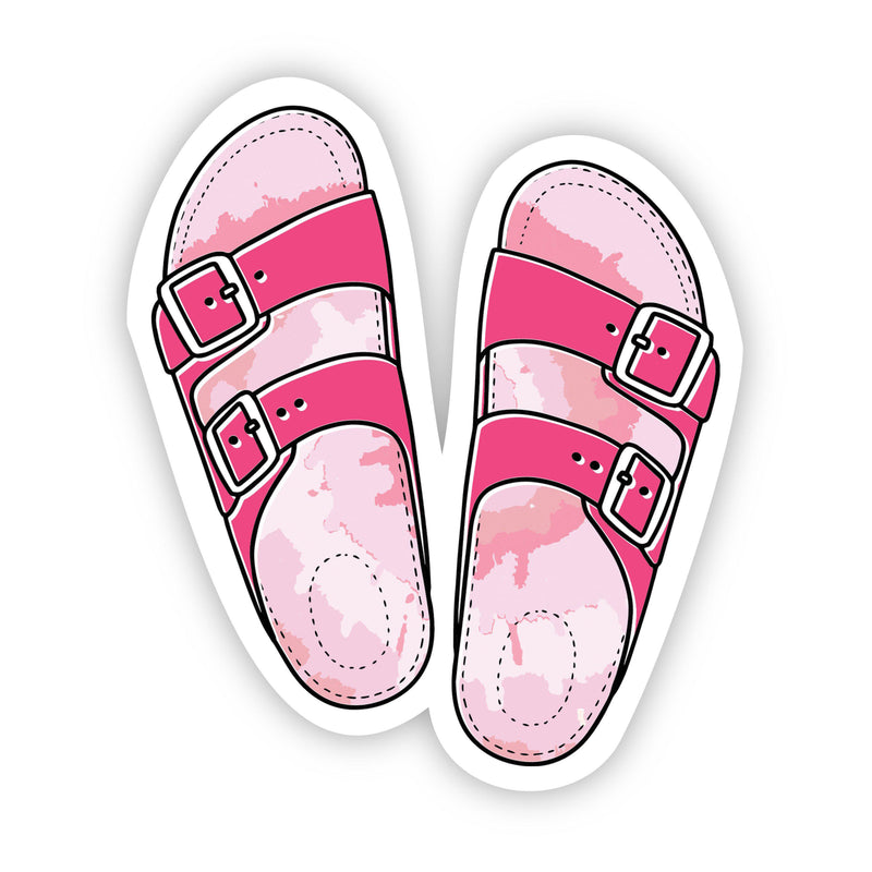 Sandal Pink Aesthetic Sticker
