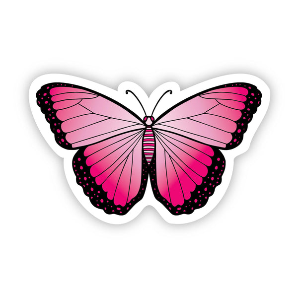 Butterfly Pink Aesthetic Sticker