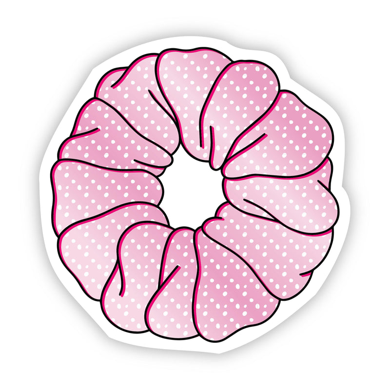 Scrunchie Pink Aesthetic Sticker