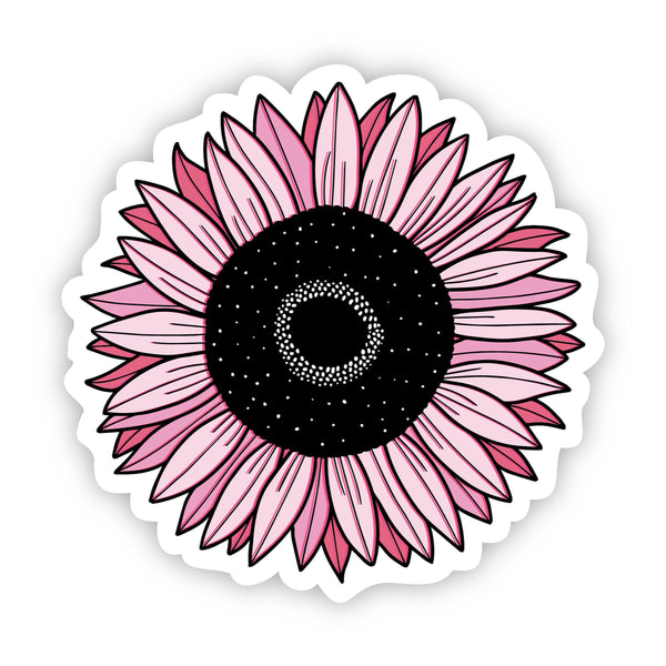 Sunflower Pink Aesthetic Sticker