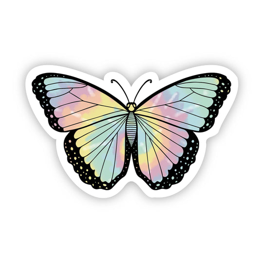 Butterfly Tie Dye Aesthetic Sticker