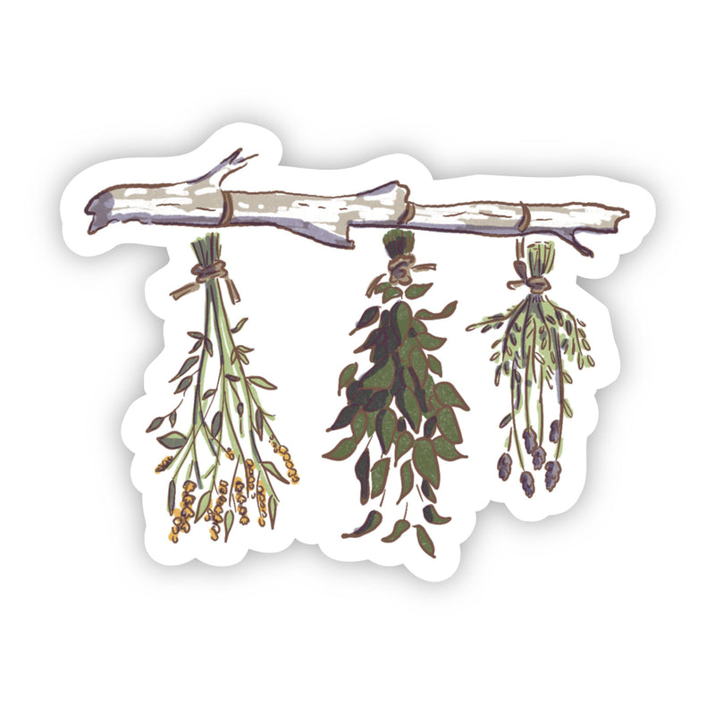 Branch with Leaves Sticker