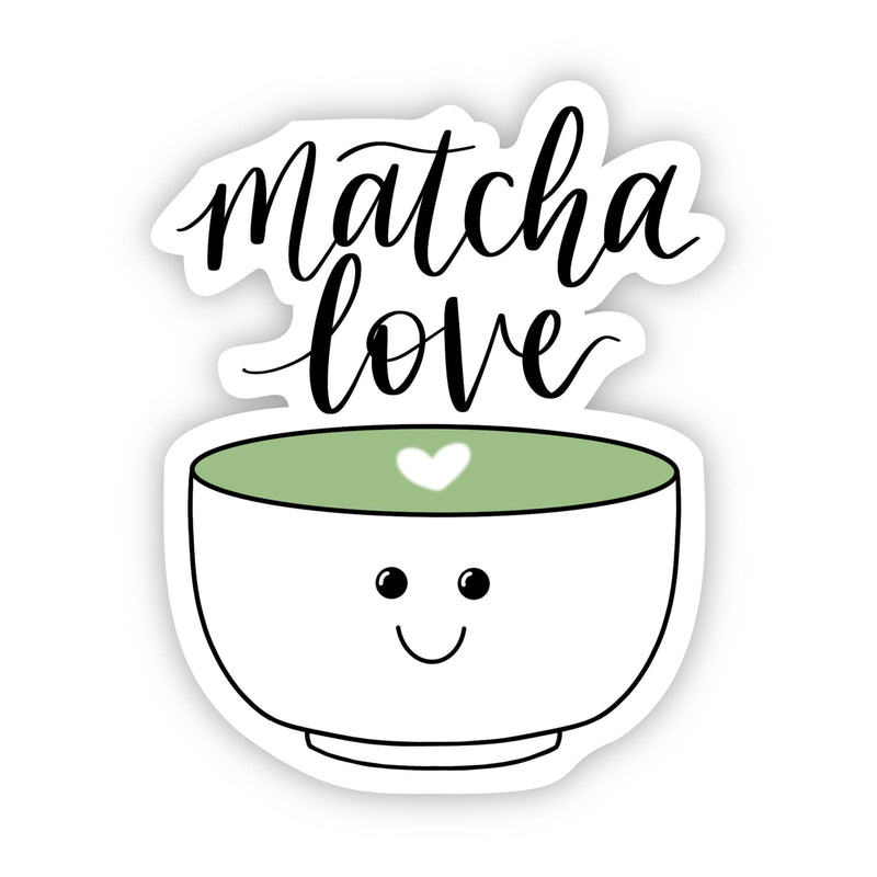 Matcha Love Sticker Sticker