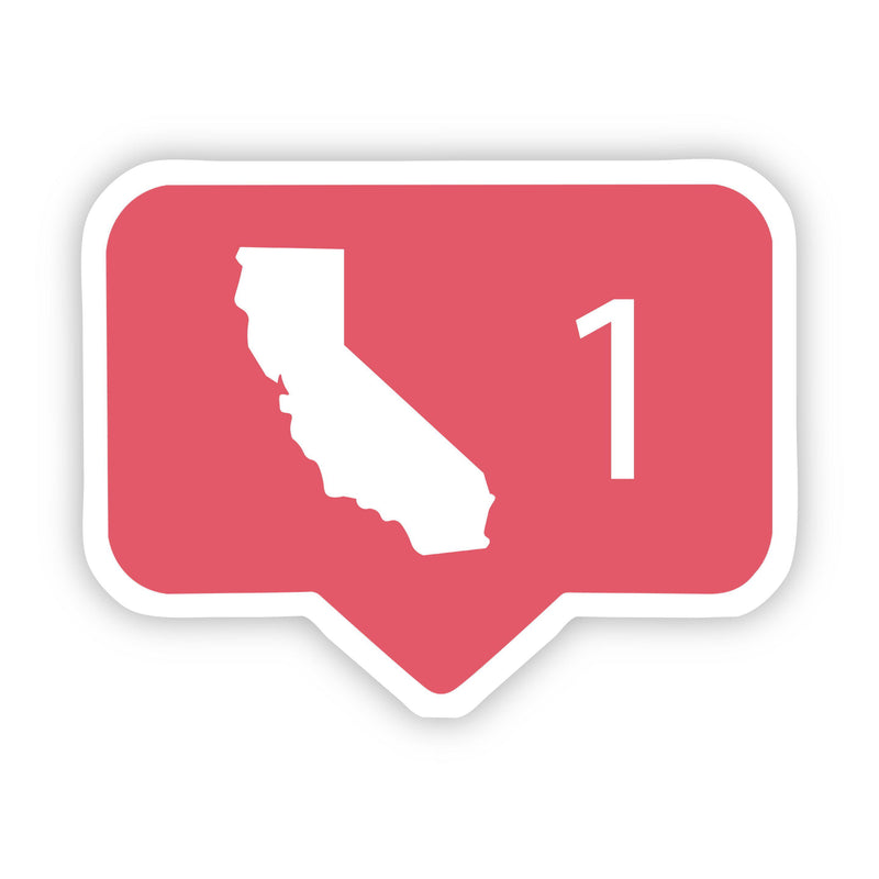 California Comment Sticker