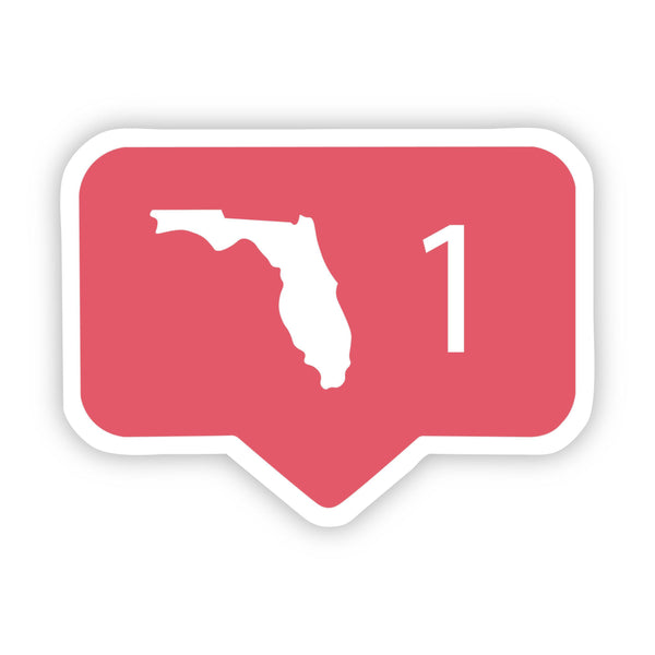 Florida Comment Sticker