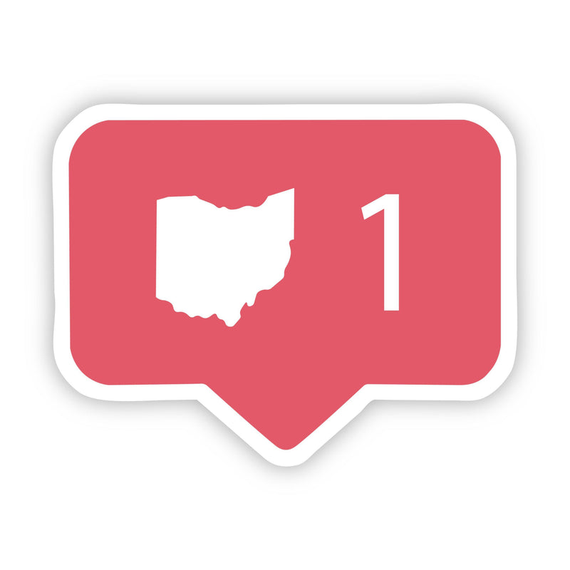 Ohio Comment Sticker