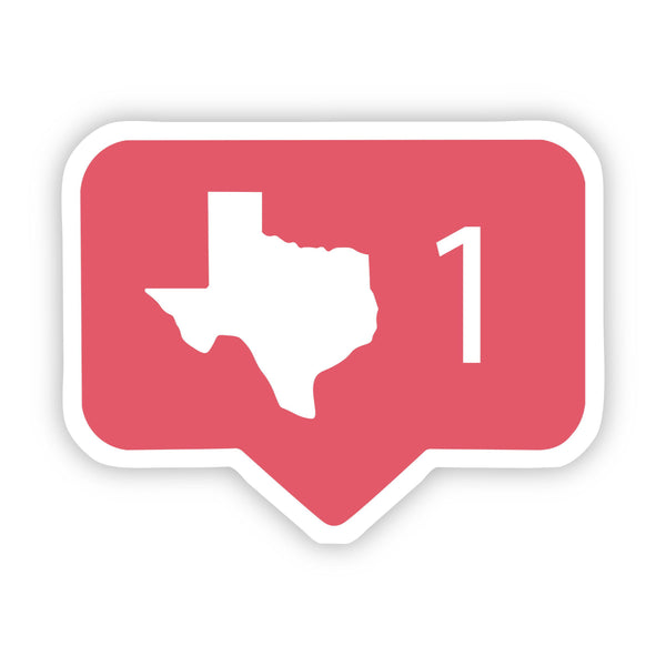 Texas Comment Sticker
