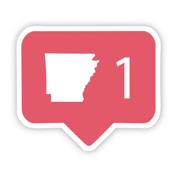 Arkansas Social Media Comment Sticker