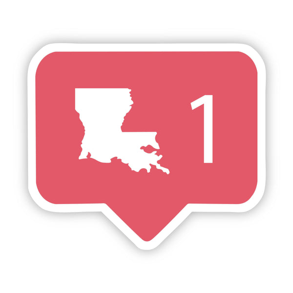 Louisiana Social Media Comment Sticker
