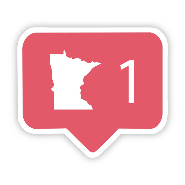 Minnesota Social Media Comment Sticker