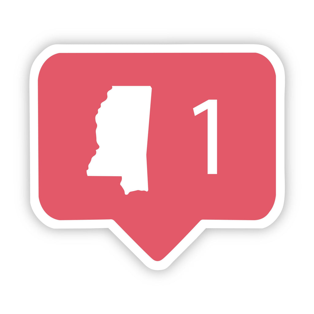 Mississippi Social Media Comment Sticker