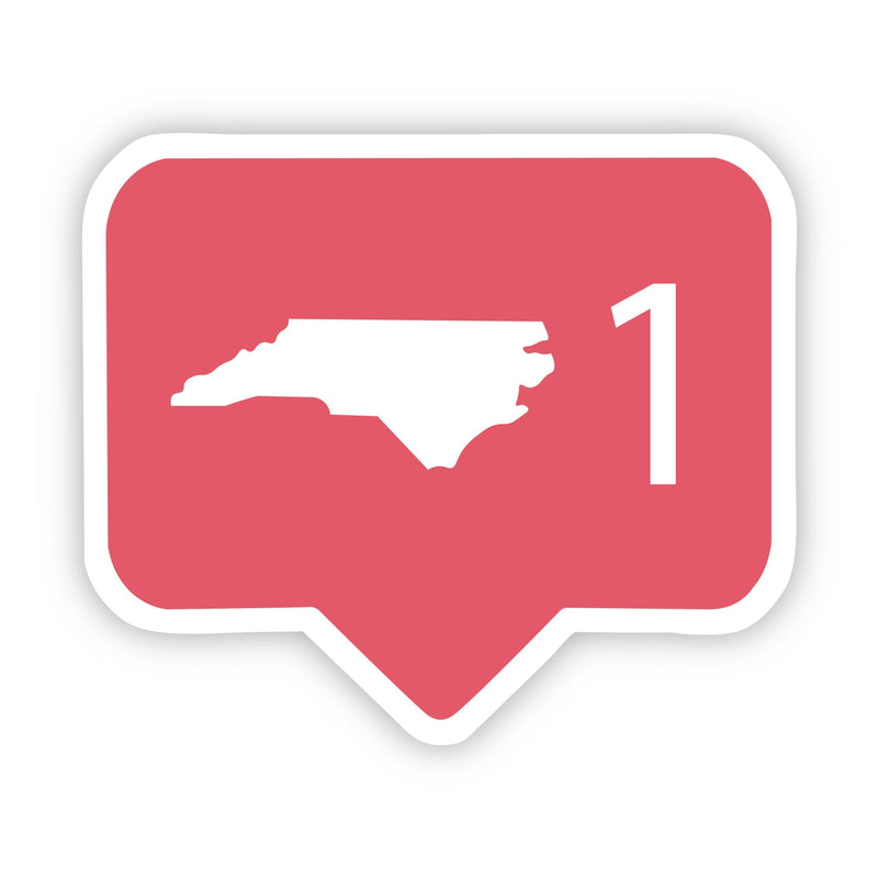 North Carolina Social Media Comment Sticker