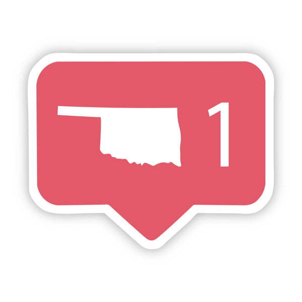 Oklahoma Social Media Comment Sticker