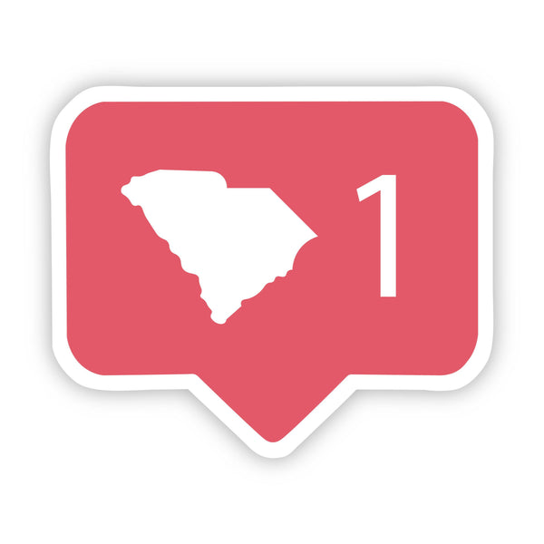 South Carolina Social Media Comment Sticker