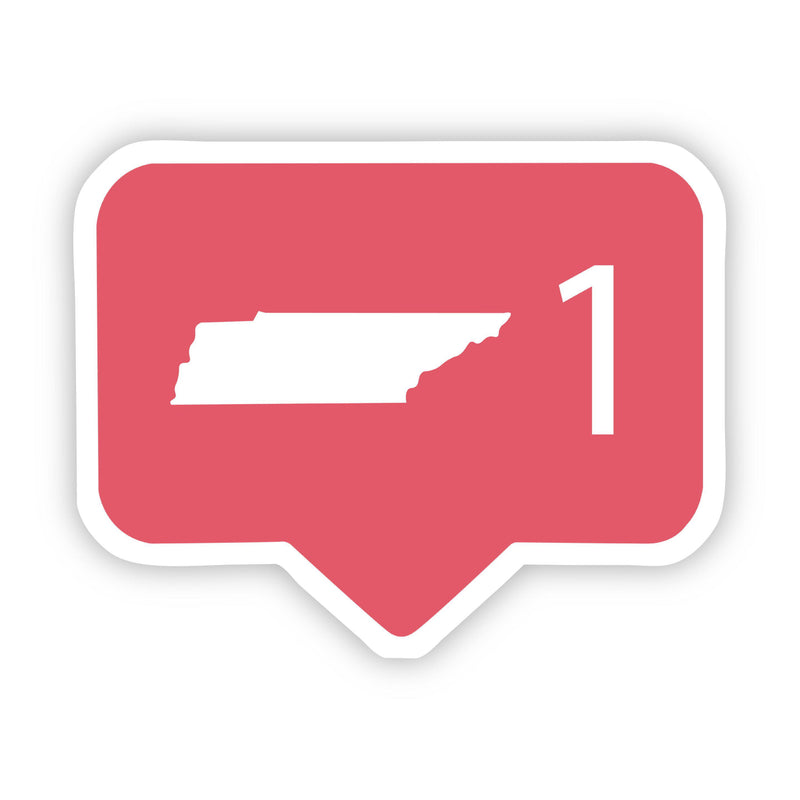 Tennessee Social Media Comment Sticker