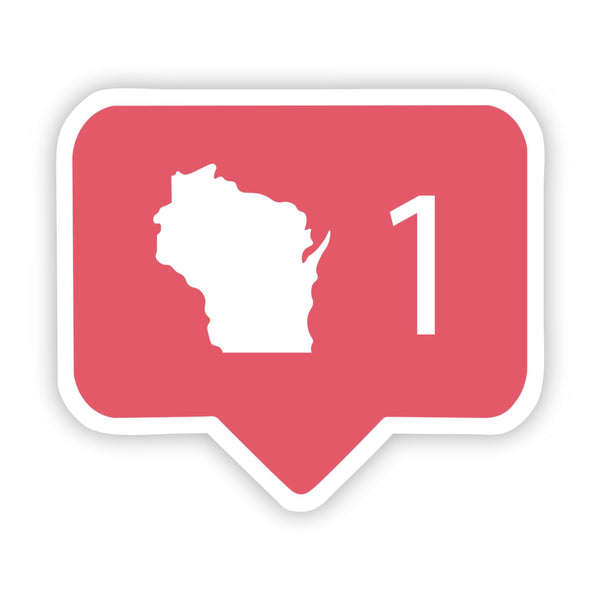Wisconsin Social Media Comment Sticker
