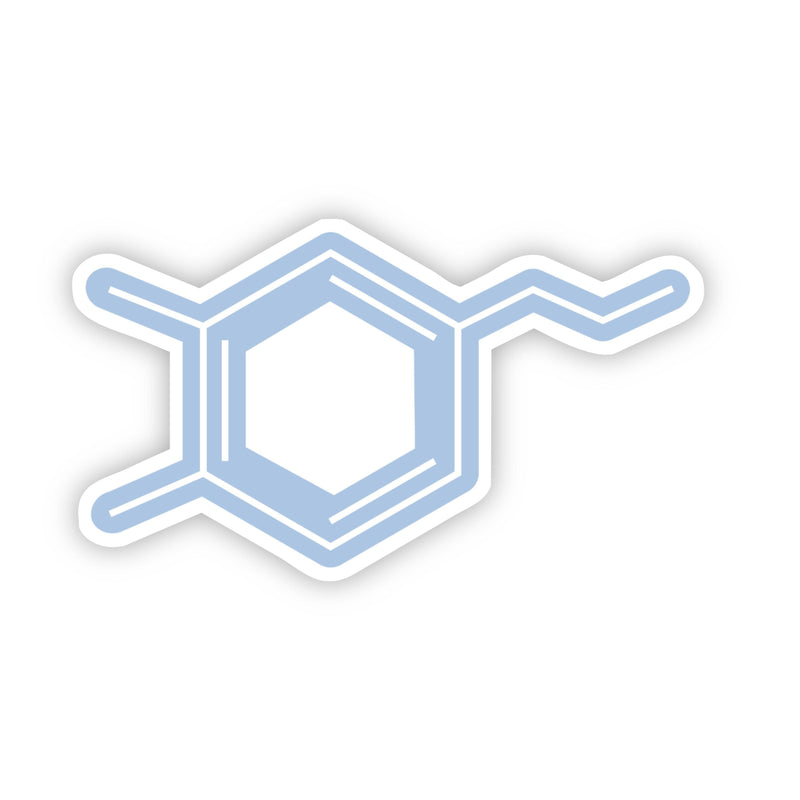 Dopamine Chemistry Blue Sticker