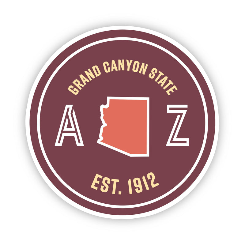 Grand Canyon State Arizona Sticker