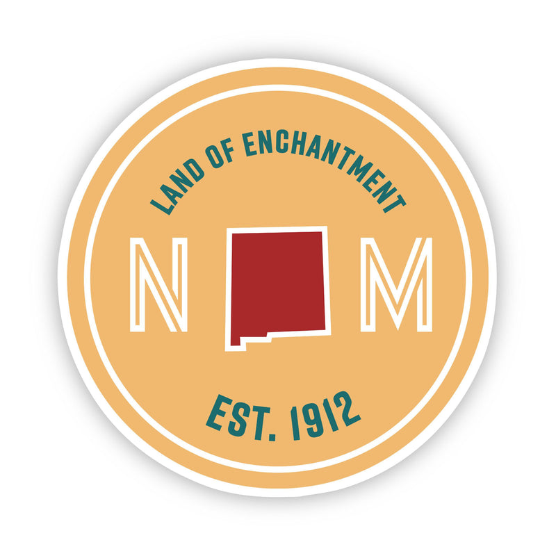 Land of Enchantment New Mexico Sticker