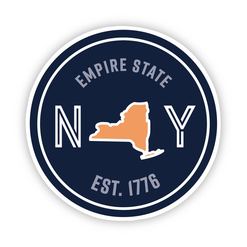 Empire State New York Sticker