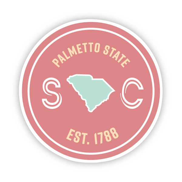 Palmetto State South Carolina Sticker