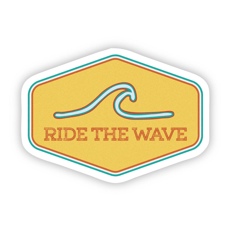 Ride The Wave Sticker