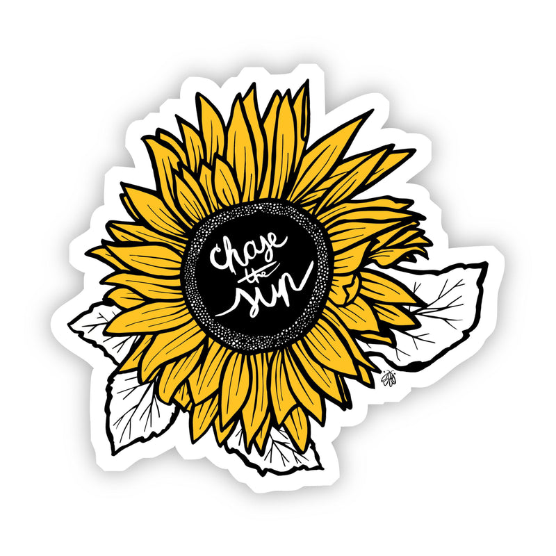 Chase the Sun Sunflower Sticker