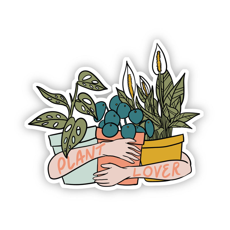 Plant Lover Light Arms Sticker