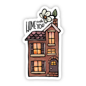 Home With You Sticker