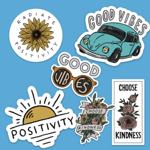 Good Thoughts Sticker 6 Pack