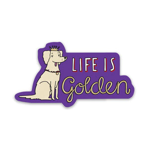 Life is Golden Sticker