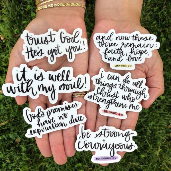 Bible Quote Sticker Mega Pack