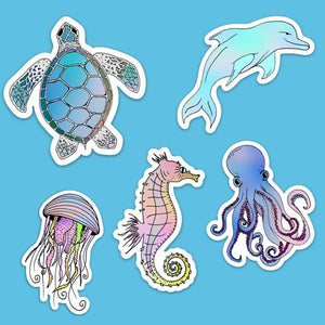 Under The Sea Sticker Pack