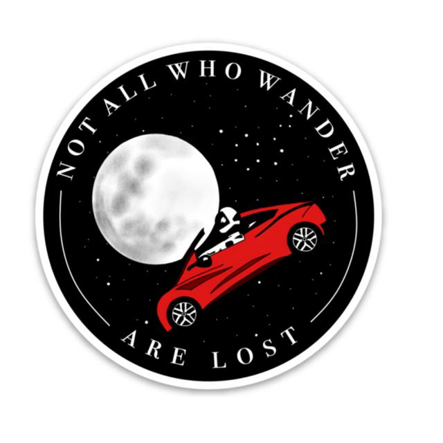 Not All Who Wander Are Lost (Space edition)